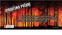 VATROGASCI APELIRAJU  Spriječimo požare otvorenog prostora
