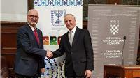 Veleposlaniku Države Izrael u RH Ilanu Mor predstavljen 24. Viroexpo