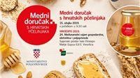Danas na Viroexpu Medni doručak s hrvatskih pčelinjaka