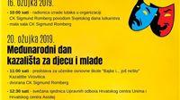 Kazalište Virovitica na Međunarodnom danu kazališta za djecu i mlade i  Svjets...
