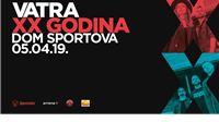 U petak 5.travnja u Domu sportova, veliki rođendanski koncert Vatre
