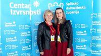 """Vesna Šerepac i Martina Bunić, sudjelovale na Međunarodnoj konferenciji """"Izazovi u radu s darovitom djecom i mladima"""""""