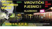 Virovitički pjesnici i književnici u srijedu gostuju na Brodu Brazil u Zagrebu