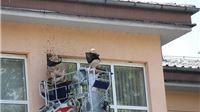 Roj pčela opsjeo pročelje zgrade Virovitičko-podravske županije
