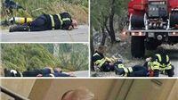 Apsolutni viralni hit dana: Đakić spava na radnom mjestu u saborskim klupama, vatrogasci nakon paklene večeri na asfaltu