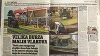 JUTARNJI LIST: Čarobni svijet kolekcionarstva - velika burza malih vlakova u Virovitici