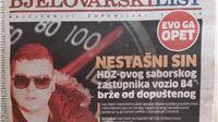 Evo ga opet! Ivan Đakić kroz naseljeno mjesto vozio 84 kilmetara na sat više o...