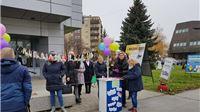 Javna akcija Udruge SOS povodom Međunarodnog dana borbe protiv nasilja nad ženama