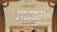 Drugi dani smijeha u Virovitici od 10. do 12. prosinca