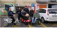 Na Međunarodni dan osoba s invaliditetom 39 vozača parkiralo svoje automobile na njihova mjesta