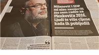 Boris Malešević za Jutarnji list: Slogan 'predsjednik s karakterom' zapisao sam još 2018.