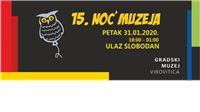 Noć muzeja u Virovitici: Dva nova stalna postava, Escape room, kviz i koncert Damir Kukuruzović  Dijango group
