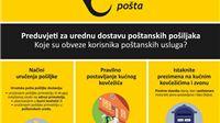Novi Opći uvjeti za obavljanje univerzalnih poštanskih usluga. Koje su obveze korisnika?