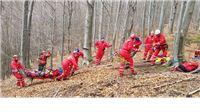 Vježba Gorske službe spašavanja u Parku prirode Papuk