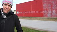 Državno odvjetništvo u Virovitici zatražilo pet mjeseci zatvora za novinarku jer je ispisala grafit na zgradi