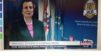 Markotić: Utjecaj medija jedan od razloga za uspjeh u borbi protiv virusa