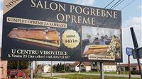 MORBIDNO U jeku korone virusa gradska komunalna tvrtka pokrenula reklamnu kampanju pogrebne opreme