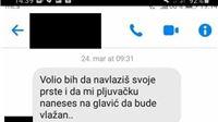 Bivši policajac iz Virovitice slao gnjusne poruke i fotografije dvanaestogodišnjoj djevojčici. Dvadeset puta prijavljivan za seksualna uznemiravanja