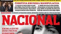 Eto njega opet na naslovnici: Nacional o povezanost uhićene Josipe Rimac i Ivice Kirina