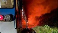 Putnički vlak koji vozi na relaciji Osijek - Virovitica zapalio se kod Našica