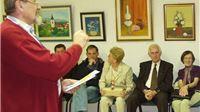 Ana i Vlado Kolesarić: Tvoje pjesništvo predstavlja opće kulturno dobro, zahvaljujući Tebi djelovanje Zavičajnog društva bilo je sasvim iznimno