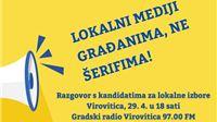 Kirin, Kurečić, Prpić i Besek o modelima funkcioniranja i financiranja lokalnih medija u debati na Gradskom radiju