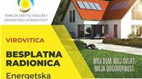ENERGETSKA OBNOVA OBITELJSKIH KUĆA Informativna radionica za građane u četvrtak, 23. rujna u Virovitici