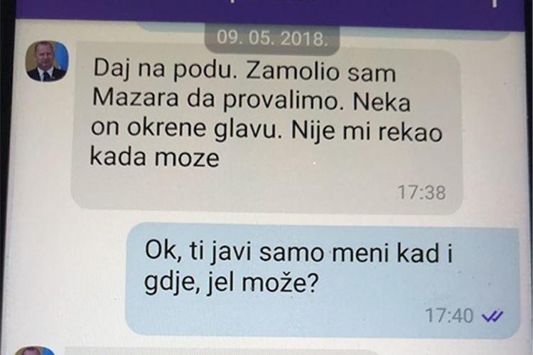 Telegram objavio novu poruku kojom pomoćnik ministra Nenad Križić nagovara branitelja da počini kazneno djelo