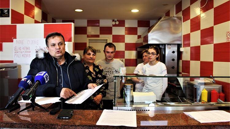 Mlinarić: Nismo prodavali kebab zaraženog mesa. Podmeću Tolušiću, mi smo kolateralne žrtve