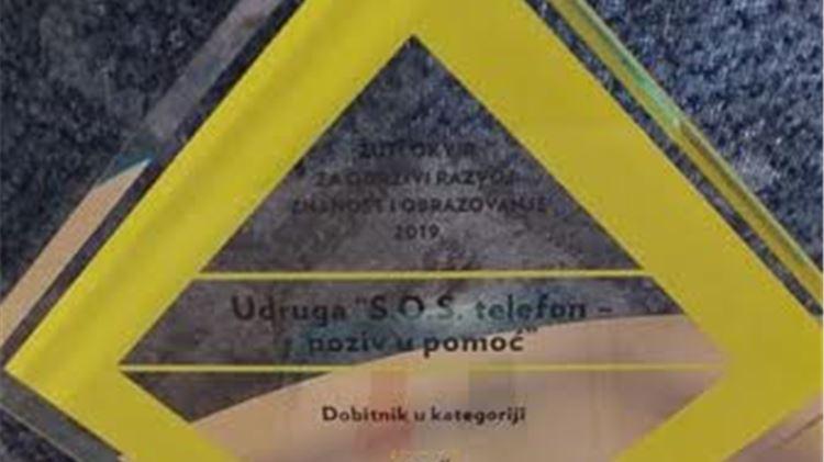 """S.O.S. Virovitica s priručnikom """"Eduka"""" pobjednik je """"Žutog okvira"""""""