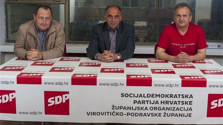 Medenica: Nije Đakić s bocom kisika došao u Orahovicu spašavati mene i SDP, već gospođu Petin i HSS