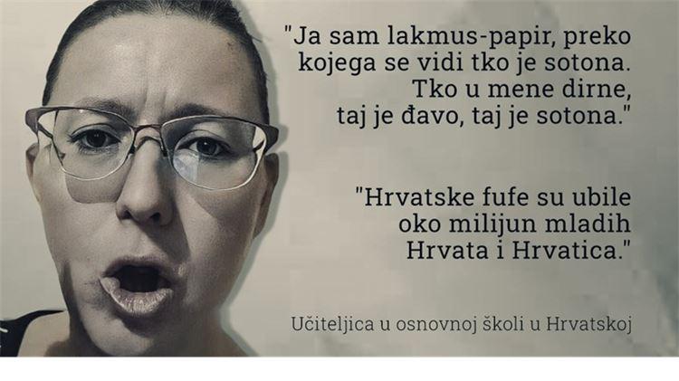 Bernarda Jug: Hrvatske fufe su ubile oko milijun mladih Hrvata i Hrvatica